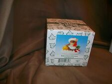 Fitz & Floyd Charming Tails Figurine Baby'S First Christmas