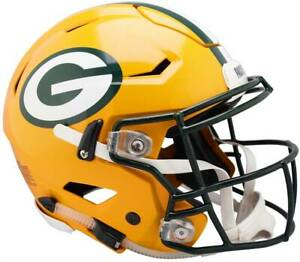 Green Bay Packers Full Size Riddell SpeedFlex Authentic Helmet - Limited Supply
