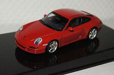 Porsche 911 (997) carrera rojo 1:43 Autoart nuevo & OVP 57881