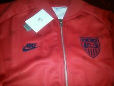 USA men's soccer jackets worn by players