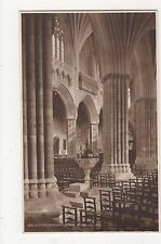 Exter Cathedral, Looking Across The Nave, Judges 4319 Postcard, A879