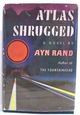 Atlas Shrugged by Ayn Rand ~ 3rd Printing   10/1957  DJ