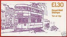 Fl3b £1.30 Trams Swansea 1 Rm Folded Booklet