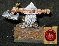 White Bearded Dwarf Ancestor Limited Edition 2017 miniature 28mm scale