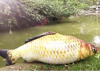 39'' Big Simulation Fish Plush Toy Stuffed Animal Soft Doll Sofa Pillow Kid Gift