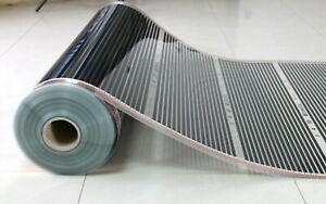 Floor Heating Far Infrared Heating Film Hot Foil Mat For Laminate panels 140W