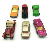 Lot of 6 Vintage Toy Cars  5 Matchbox 1 Stutz Hong Kong  England 1970s