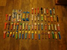 BIG LOT OF COLLECTIBLE PEZ DISPENSERS (LOOK) LOT #2