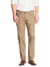 5415 Banana Republic Mens Mojave Desser Beige Dobby Slim Fit Jeans 36W x 34L $70