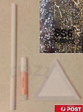 Rhinestone Nail Art Gems Starter MEGA PACK Stones+ Pencil + Sorting Tray + Glue!