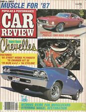 MUSCLE CAR REVIEW 1986 OCT - BOSS 429, SC/RAMBLER