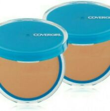 Lot of (2) CoverGirl Clean Oil Control Pressed Powder Compacts #555 - SOFT HONEY