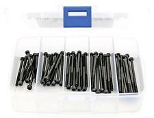 iExcell 50Pcs M3 x 40mm/45mm/50mm/55mm/60mm Hex Socket Head Cap Screws Kit, Half