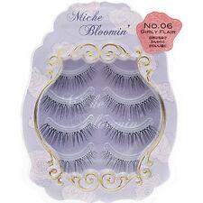 JAPAN Miche Bloomin False eyelash 4pairs Regular line Girly Flair Free shipping