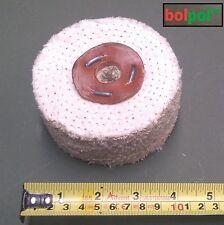 Sisal roue de polissage 100mm x 3 section-fast cut polissage mop pour metal S100/3