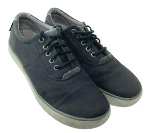 KEEN SANTA CRUZ Mens 9.5 Canvas Casual Sneaker Shoes Black Gray