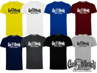 Gas Monkey Garage T-Shirt Official GMG OG Logo Blood Sweat and Beers Casual Tee