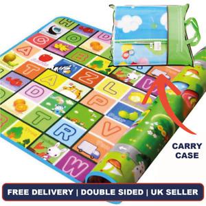 Bravich Modern Kids Educational Double Soft Play Mat Childrens Playroom Carpet