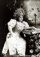 Actress Lillian Russell Dressed as a Fortune Teller -1895- Celebrity Photo Print