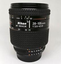 【EXC+++】Nikon AF NIKKOR 28-105mm F3.5-4.5D Zoom Lens from JAPAN