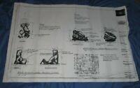 THE MUMMY Universal Studios Theme Park Movie PROP Display Blueprint~Revenge/Ride