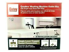 Oatey QuadTro 38568 Single Lever Offset Washing Machine Outlet Drain Box