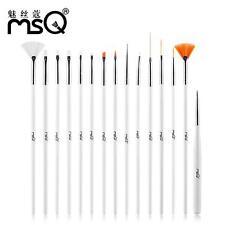 Celeb Pro MSQ 15pcs/Set Nail Art Paint Dot Draw Pen Brush for UV Gel DIY Tool N7