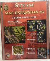 Steam Rails to Riches map expansion #3 Brand New Mayfair Games