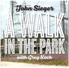 John Sieger - Walk in the Park [New CD]