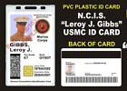 NCIS (Leroy Jethro Gibbs) USMC ID Badge / Card Prop - Military CAC ID USA Made