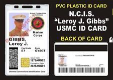 NCIS (Leroy Jethro Gibbs) USMC ID Badge / Card Prop - Military CAC ID USA Made