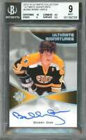 Bobby Orr 2015-16 Ultimate Collection Signatures #Usbo Auto BGS 9 (10 8.5 9 9.5)