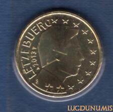 Luxembourg 2013 50 Centimes D'euro BU FDC Pièce Provenant du BU 7500 Exemplaires