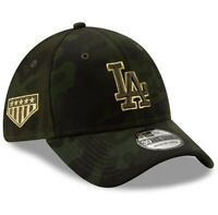 New Era Los Angeles Dodgers 39THIRTY Hat Size Large XL MLB Armed Forces Day Cap