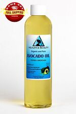 AVOCADO OIL REFINED ORGANIC CARRIER COLD PRESSED FRESH 100% PURE 8 OZ