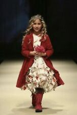 NEW 9 10 140 JOTTUM TULIP REMBRANDT dress vintage tulle skirt ruffle sanneke