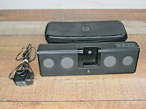 Logitech MM50 iPod - iPhone Rechargeable Speaker With Zippered Case