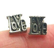 LOVE Studs Sterling Silver 925 Ring 1g DWK310