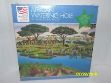 African Watering Hole Charles Bragg Great American Puzzle Factory 937 1000+