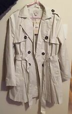 New Woman's Ojay Trench Coat, Size 14