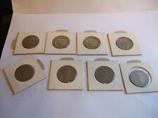 More details for 8 good con coins two shillings (50% silver 1944,*2 1945) and 47,56,59,66 and 67!