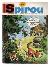 SPIROU N°   1531  DU 17/08/1967 BE