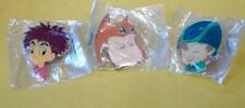 Vintage RARE 2000 Pokemon Enamel Pins Lot of 3  w/Baggies* Mcdonalds Promo?
