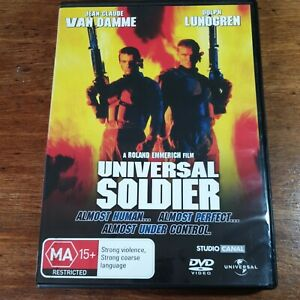 Universal Soldier DVD R4 LIKE NEW FREE POST