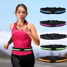 Double zipper Gym sports Waist band Belt Case Strap For iphone 6 plus