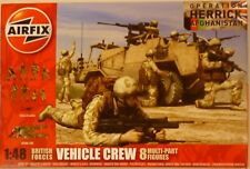 Airfix 1/48 British Forces Vehicle Crew Figures Operation Herrick Afghanistan