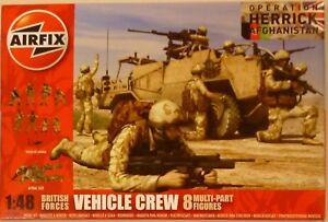 Airfix 1/48 British Forces Vehicle Crew Figures Operation Herrick Afghanistan