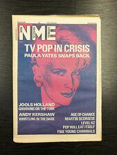 NME: Paula Yates, Jooles Holland, Andy Kershaw, Level 42 -7th March 1987