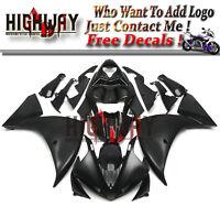 BE Fairings Fit Yamaha YZF R1 09-11 ABS Fairing Kit Bodywork Metallic Flat Black