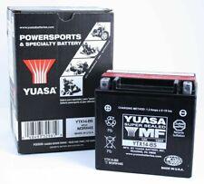 Yuasa YTX14-BS Hyosung GT650, R, S '09-'13 AGM Fresh Pack 12 Volt Battery